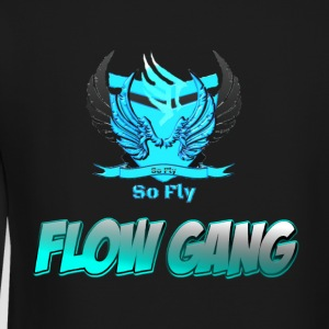Flow Gang With So Fly Official Logo - Crewneck Sweatshirt