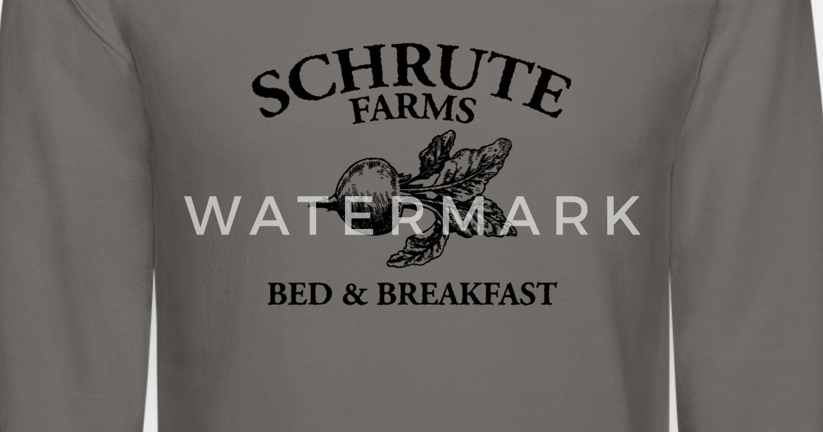 46e54dfa7 Schrute Farms Bed and Breakfast Unisex Crewneck Sweatshirt | Spreadshirt