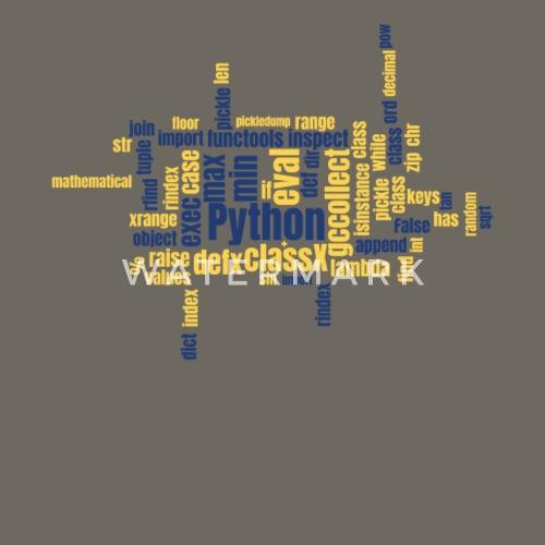 Python Wordcloud Classic Premium by mangobanana   Spreadshirt