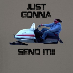 Just Gonna Send It Larry Enticer Tee Shirt - Crewneck Sweatshirt