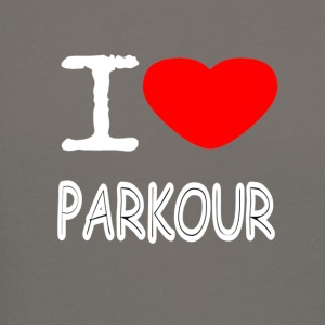 I LOVE PARKOUR - Crewneck Sweatshirt