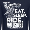 Dirt Bike Eat Sleep Ride - Crewneck Sweatshirt