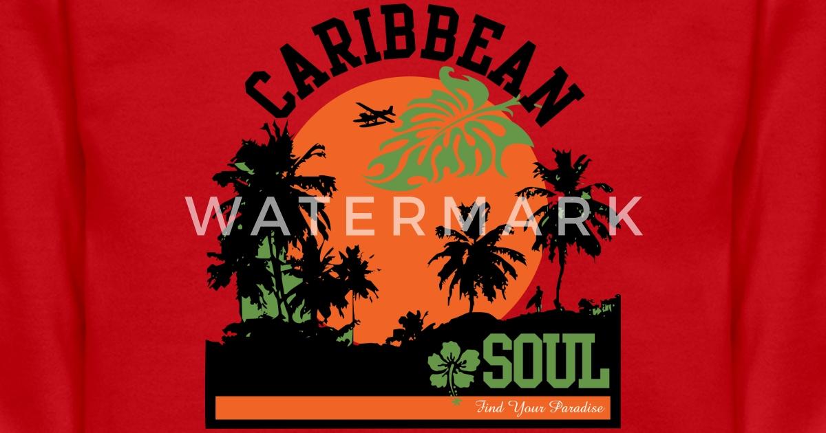 Caribbean Soul: CARIBBEAN SOUL Unisex Crewneck Sweatshirt