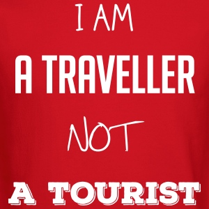 I am a traveller not a tourist - Crewneck Sweatshirt