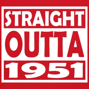 66th Birthday T Shirt Straight Outta 1951 - Crewneck Sweatshirt