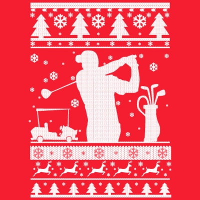 Golf Ugly Christmas