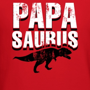 Mens Papasaurus - Funny Father's Day Gift - Crewneck Sweatshirt