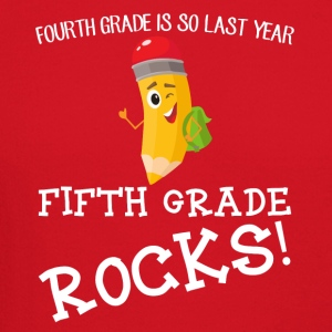 fourth grade is so last year, fifth grade Rocks! - Crewneck Sweatshirt