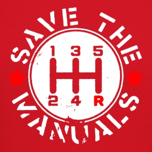 SAVE THE MANUALS - Crewneck Sweatshirt