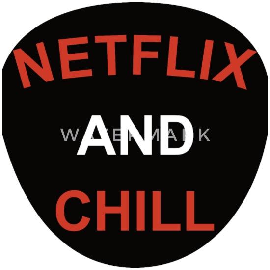 Netflix and Chill Bandana - white