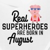 Superheroes-are-born-in-August Sk7qe - Bandana