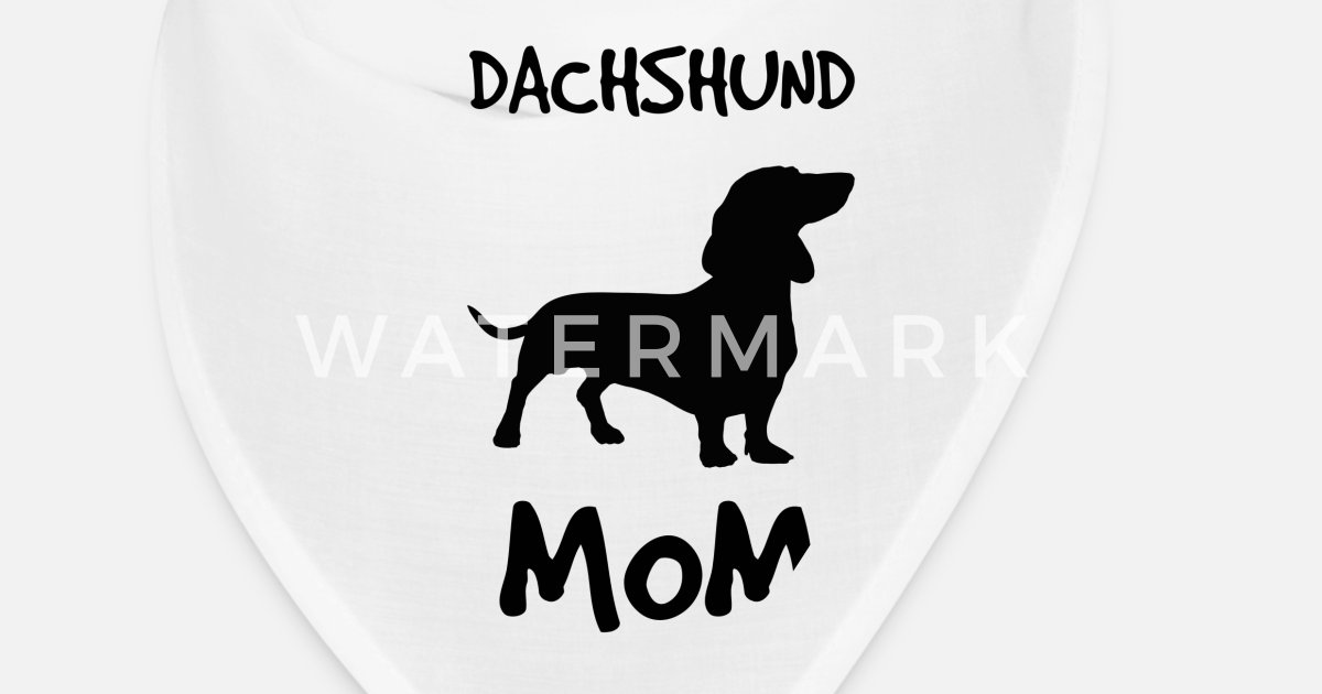 Dachshund dog breed Mom quote gift Bandana | Spreadshirt
