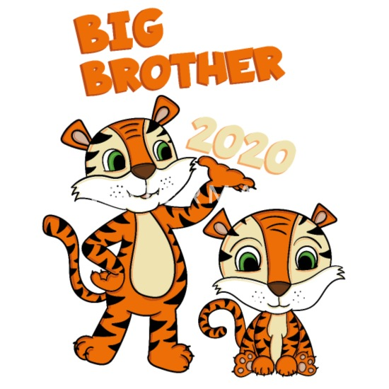 Big Brother 2020 Shirt Tiger Bandana | Spreadshirt