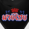muay thai king outline - Bandana