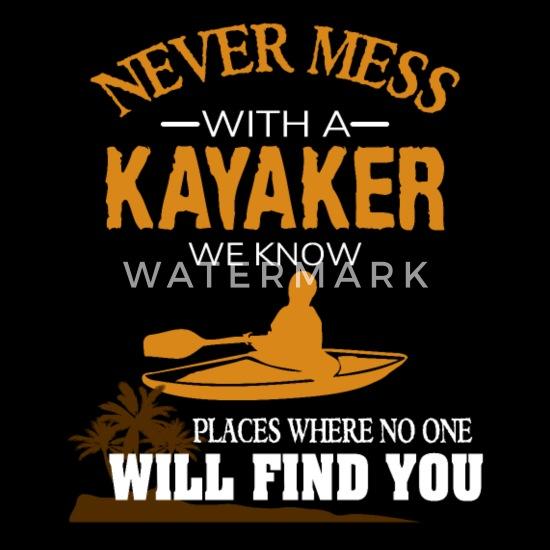 7ad140fa8a Funny Kayaking Gift Kayak Shirt Water Sport Paddle Bandana | Spreadshirt