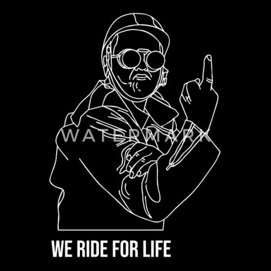 Biker Gang Motorcycle Club Rock Festival Gift Musi Bandana - black