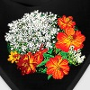 Queen Anne's Lace with Orange Flowers - Bandana