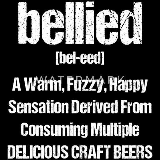 Funny Craft Beer Design - Unique Gift Ideas Bandana - black