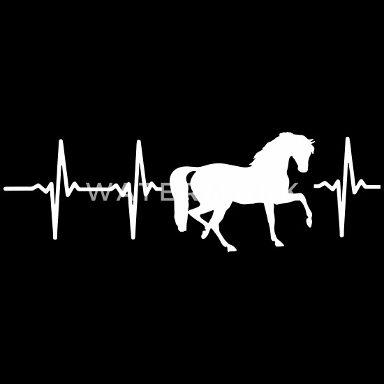 I Love Horses heart Baby Bandana Bib