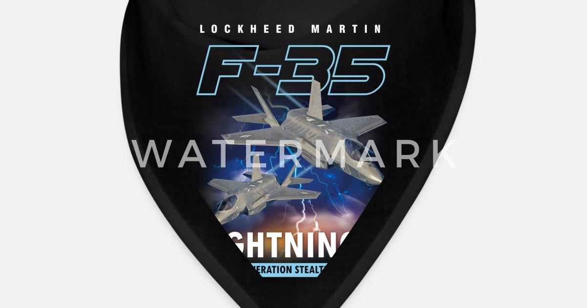 Lockheed Martin F-35A Lightning II Pilot Gift Bandana | Spreadshirt