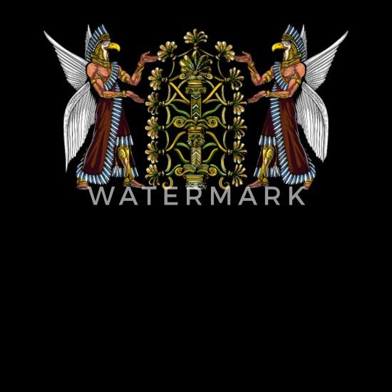 Anunnaki Aliens Gods Ancient Sumerian Reptilians Bandana - black