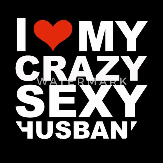 I Love My Hot Crazy Sexy Husband Marriage Wife Bandana Spreadshirt