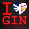 I HEART GIN Girls in Newfoundland - Dog Bandana