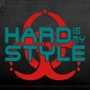 hard is my style - hardstyle vector - Duffel Bag