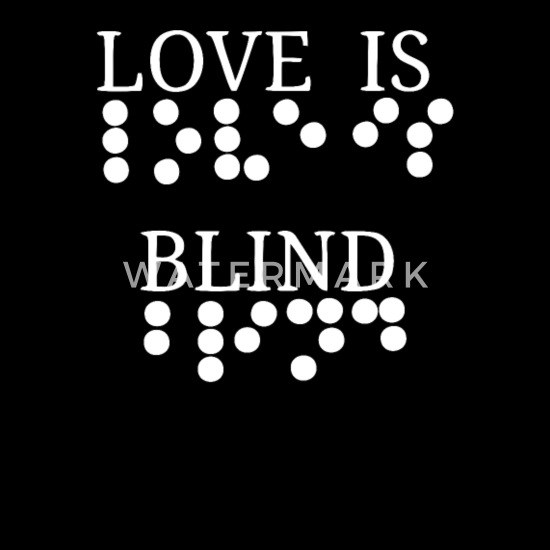 Essay about love is blind