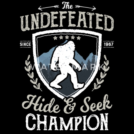 2e7287a2 Bigfoot Undefeated Hide and Seek Champion T Shirt Duffle Bag ...