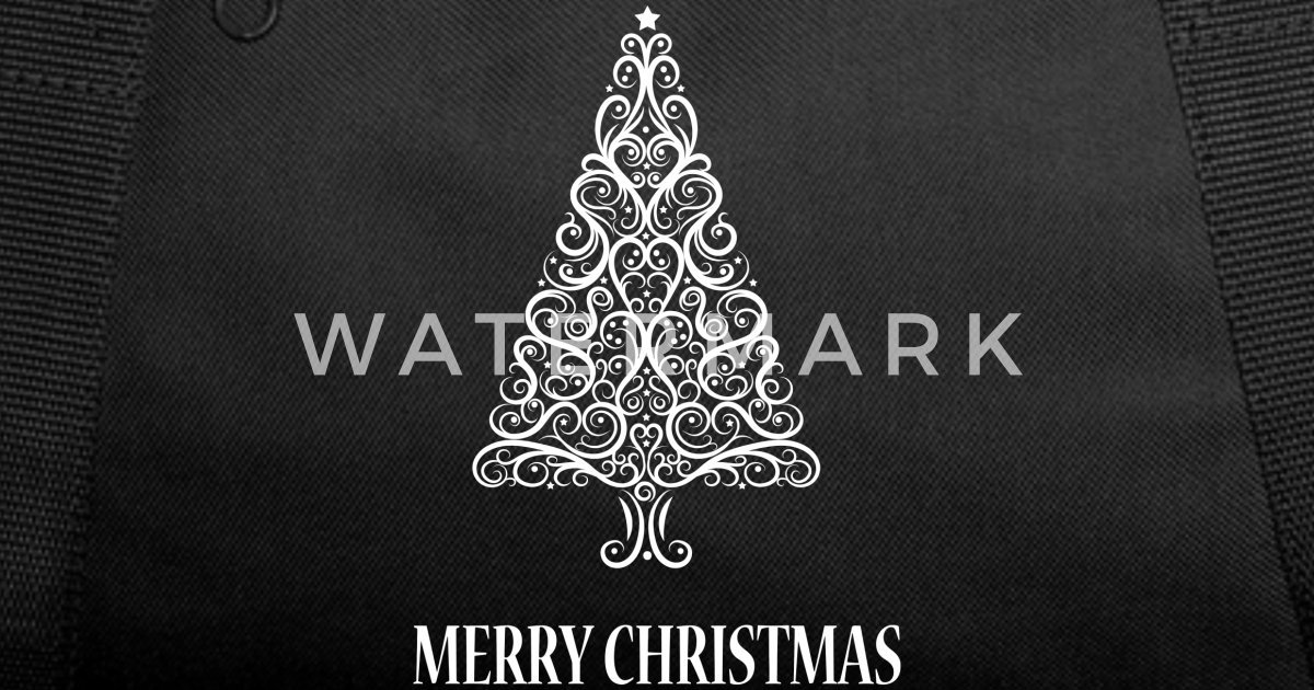 4e5001f21382 Christmas Tree Duffel Bag - Theme Park Pro 4k Wallpapers