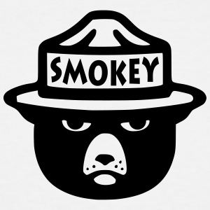 smokey - Men's Tall T-Shirt