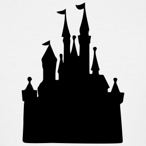 Cinderella's Castle - Men's Tall T-Shirt