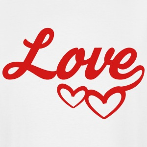 Love Couple Hearts - T-shirt grande taille homme