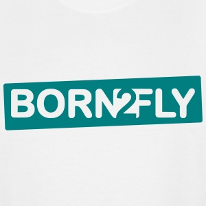 born2fly - Men's Tall T-Shirt