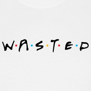Wasted Friends - Men's Tall T-Shirt