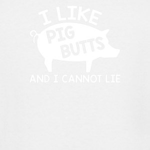 I LIKE PIG BUTTS - Men's Tall T-Shirt