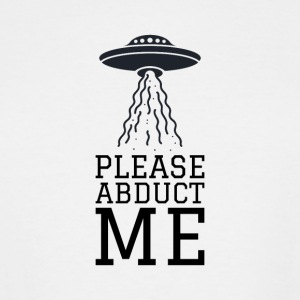 UFO - abduction - the X-Files - Men's Tall T-Shirt