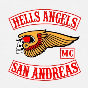 Hell angels - Men's Tall T-Shirt
