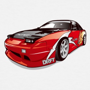 cars drift - Men's Tall T-Shirt