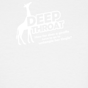 Deep Throat - Men's Tall T-Shirt