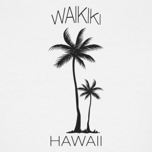Hawaii Waikiki - Men's Tall T-Shirt