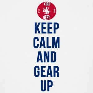 Gear - Keep Calm And Gear Up - Men's Tall T-Shirt