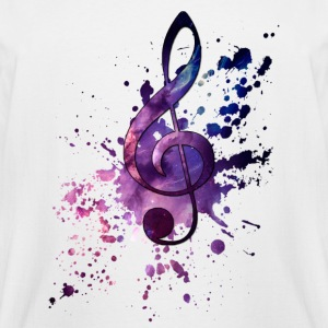 Galaxy music - Men's Tall T-Shirt