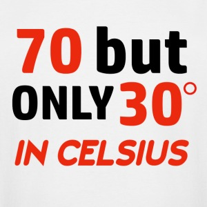 Funny 70 year old designs - Men's Tall T-Shirt