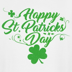 Happy St. Patricks Day - Men's Tall T-Shirt