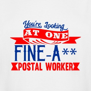 Fine-A** Postal Worker - Men's Tall T-Shirt