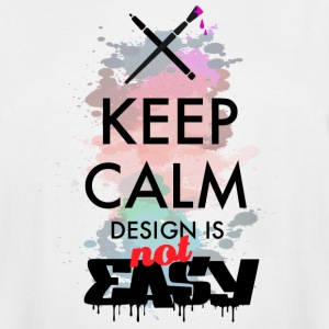 Design not easy - Men's Tall T-Shirt