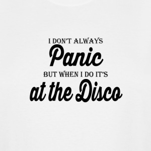Panic at the Disco - Men's Tall T-Shirt