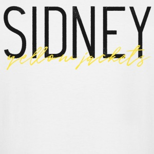 Sidney Yellow Jackets - Men's Tall T-Shirt
